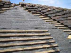 Cutting The Extension Roofs