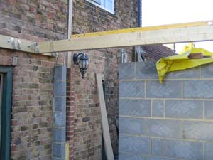 Fitting Joists For The Floor